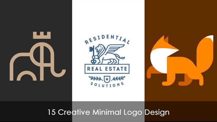 15 Creative Minimal Logo Design