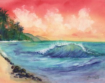 Kauai Original Watercolor Painting