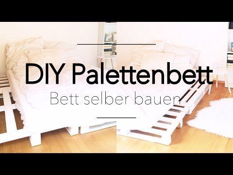 Europaletten Bett Bauen Anleitung Zum Selbermachen Möbel Bauen