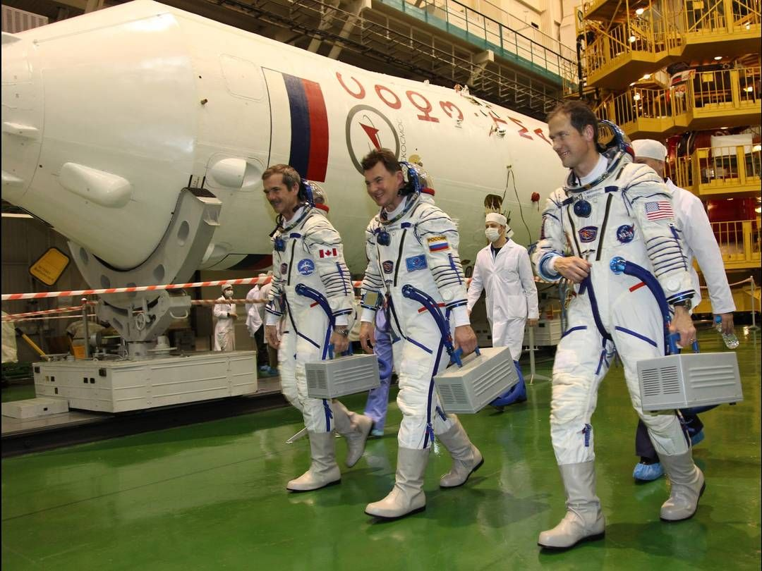canadian astronaut international space station - photo #14