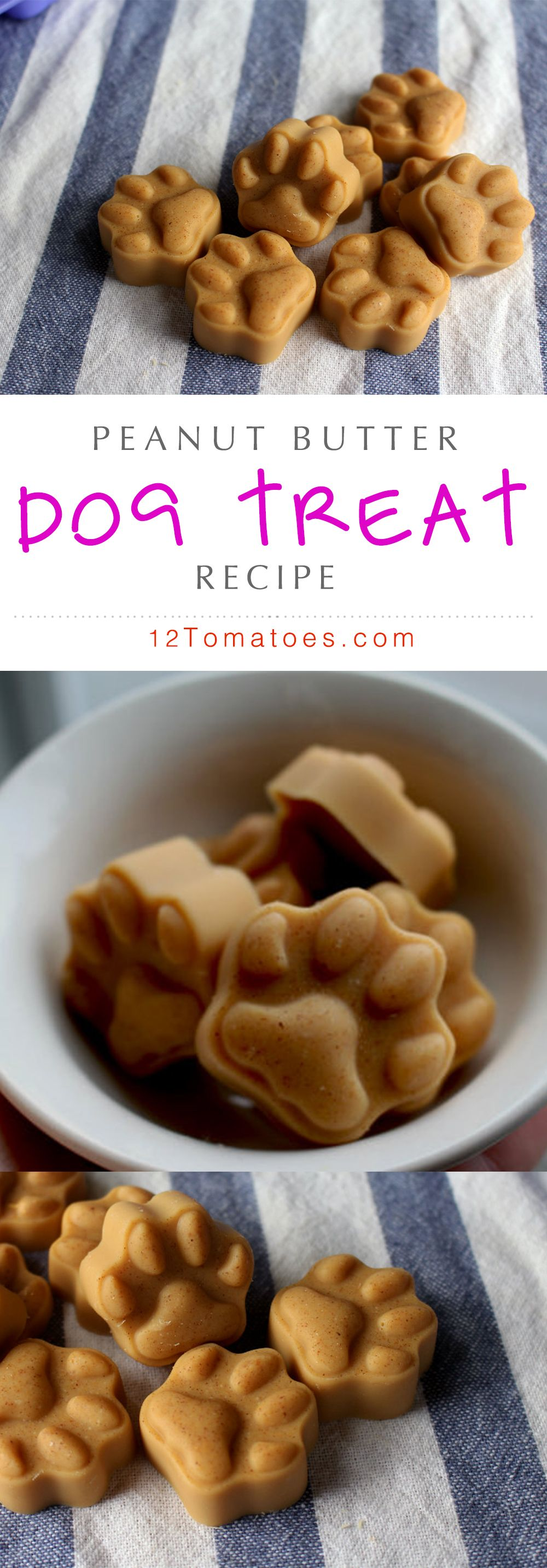 When it comes to our pets, there's not much we wouldn't give them…we just want them to have the best and be the healthiest they can be. Because of this, we recently started making our own dog treats; there's something about knowing exactly what's going into them that gives us peace of mind, and these peanut butter coconut oil treats are our new favorites – they're just so good for our (not so) little fur babies!!