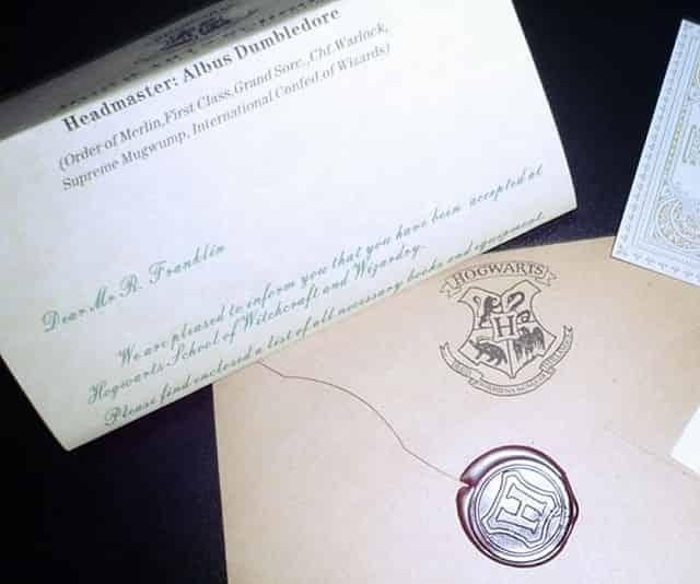 Hogwarts Acceptance Letter - Wonnered The Coolest Products on the - gift letters