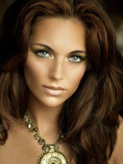 Hair Colors For Olive Skin And Blue Eyes Beauty Makeup Hair