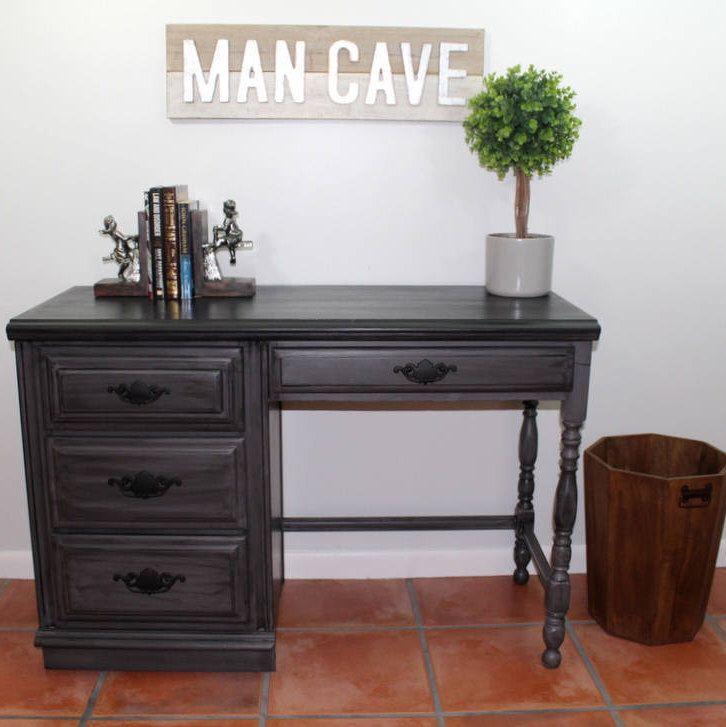 Gray Desk Vintage And Black Boy S Furniture