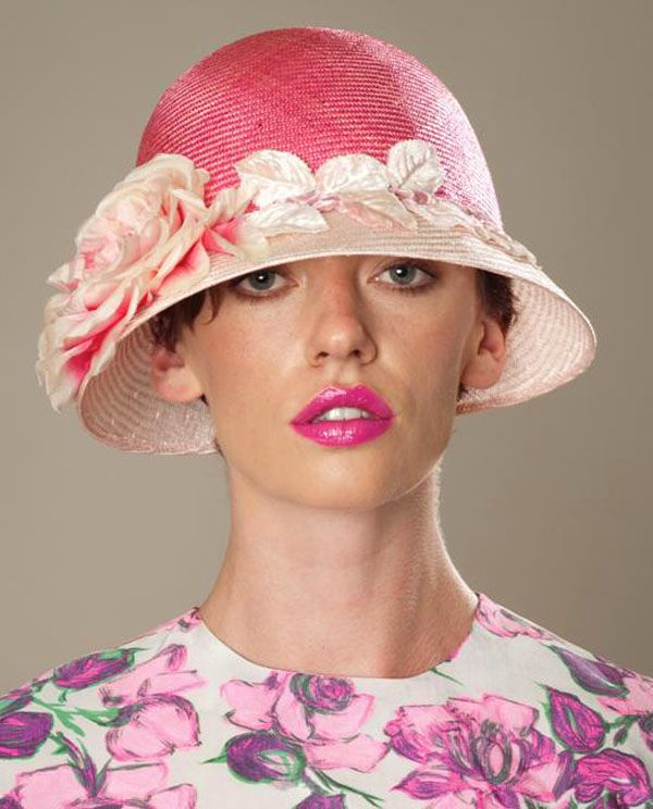 Different types of hats and when to wear them - http://boomerinas.com/2012/10/types-of-hats-for-women-when-to-wear-them-fedora-cloche-victorian-more/
