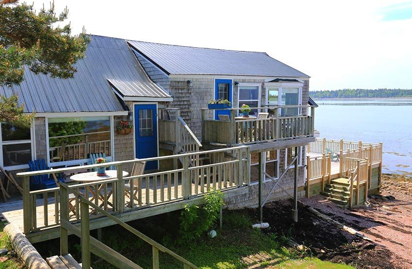 Nights 3 4 Are At The Seaside Beach Resort St Andrews New Brunswick In The Harbourview Two Cottage With A Beauti Seaside Beach Beach Resorts Grand Manan