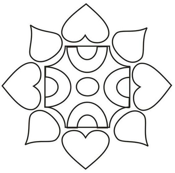 Image result for rangoli designs for kids