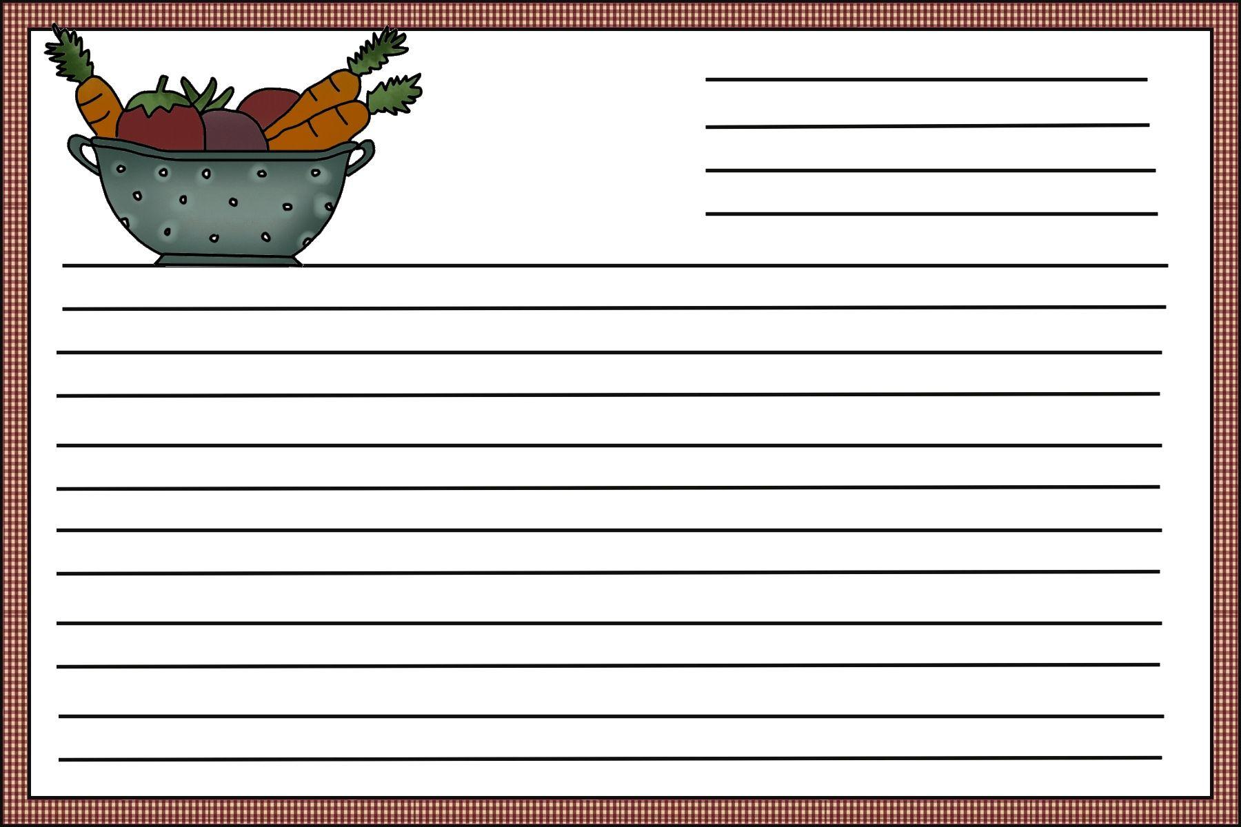 תוצאת תמונה עבור recipe card design template   card design ...