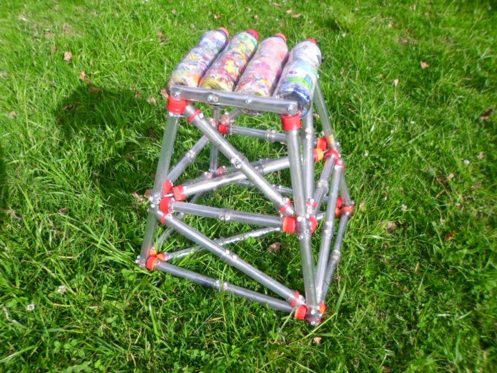 estructuras con botellas plasticas - Buscar con Google