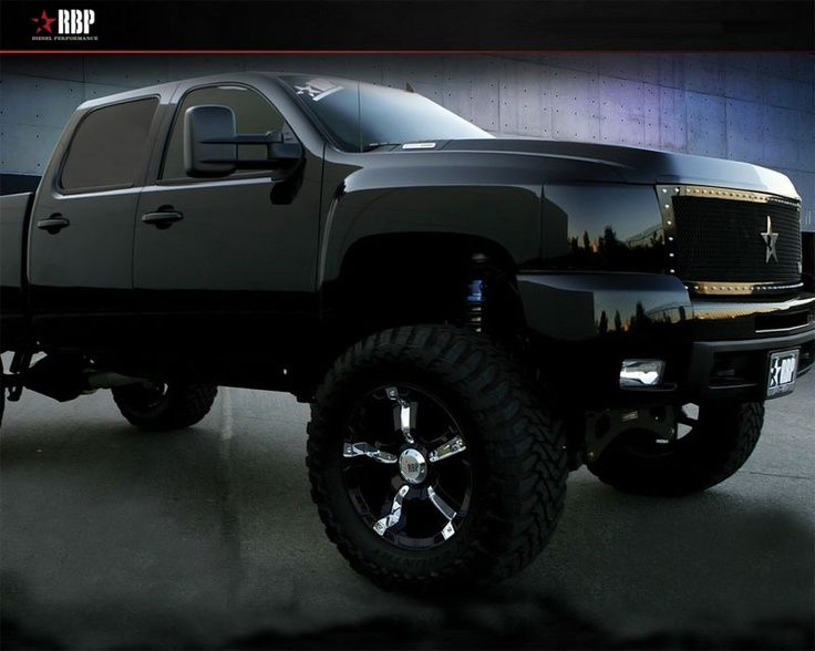 3 black lifted chevy ok let s call this we both want jacked up chevy trucks chevy trucks pinterest