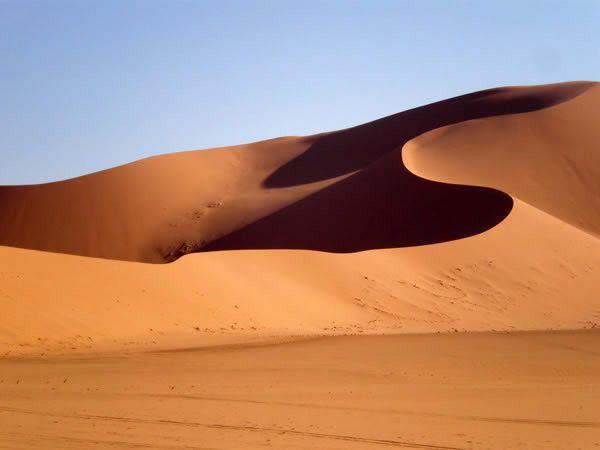 Edhan Idhan Murzuq Sand Dunes Sand Sand Dunes Dune