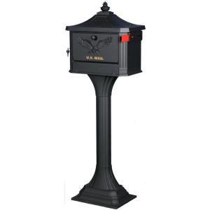 gibraltar mailboxes pedestal locking