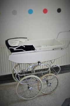 Vintage kinderwagen Koelstra