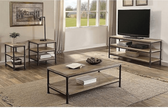 Corunna 4 Piece Coffee Table Set Coffee Table Sets By Gracie Oaks