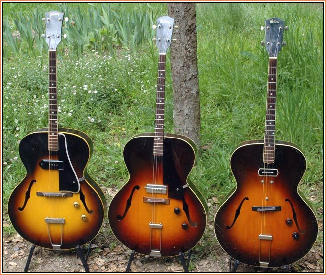 gibson archtop electric tenor guitars from est 150 to etg 150 tenor and plectrum guitars. Black Bedroom Furniture Sets. Home Design Ideas