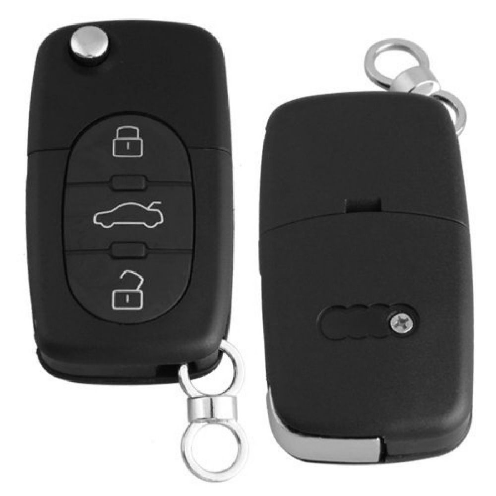2015 hot Black Replacement Remote Key Case Fob 3 Buttons