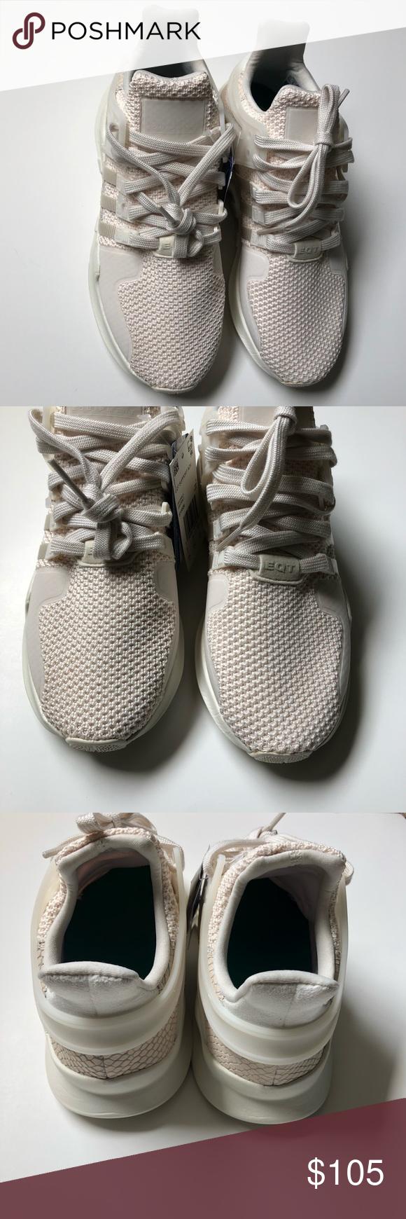 on sale ed328 4832e EQT SUPPORT ADV BY9586 Adidas originals EQT SUPPORT ADV Chalk White off  White mens running shoes