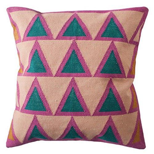 Leah Singh Maya Pillow - Light Pink | Floor pillows, Maya and Throw ...