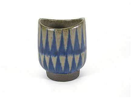 Small art pottery vessel by Thomas Toft for Tofts Keramiske, Denmark, ca. 1960s