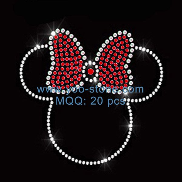 Cute Hot Cartoon Mouse Rhinestone Applique For Kids t Shirt ... a7a1aa205fc3