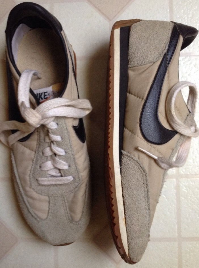 hot sale online 3989e d2ee1 Rare Womens Vintage Nike Oceania 80s Korea Cortez waffle Brown Running  Shoes 8 Nike Athletic