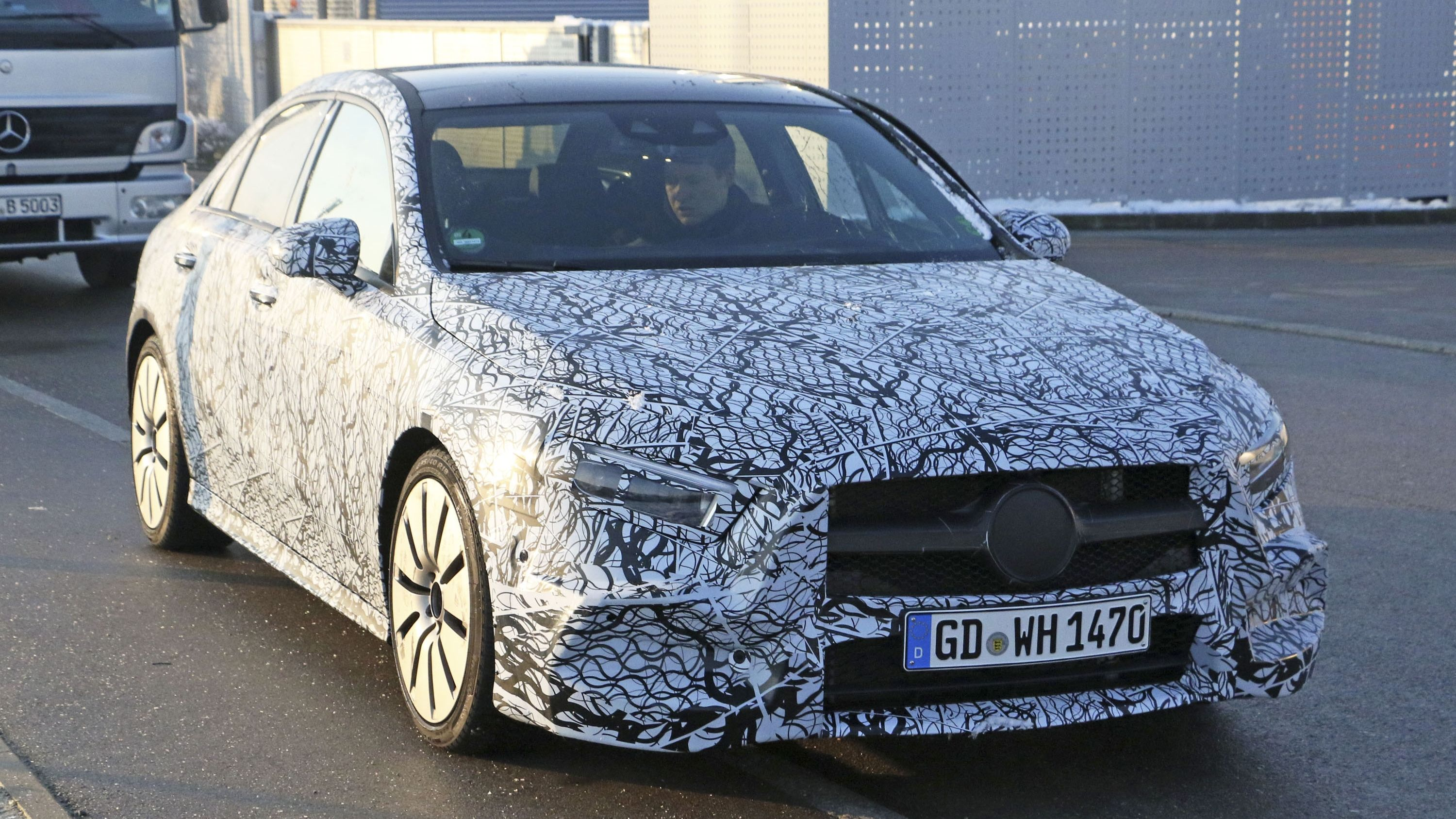 Mercedes AMG Will Take The Audi S3 With A 300 Horsepower A35