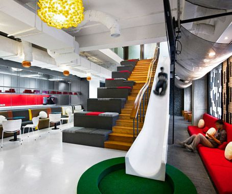 Ogilvy & Mather, Jakarta  Designed by M Moser, Ogilvy's new office gives staff a multitude of ways to work – and play.