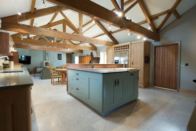 3b Jpg 800 533 Barn Conversion Kitchen Barn Kitchen Home