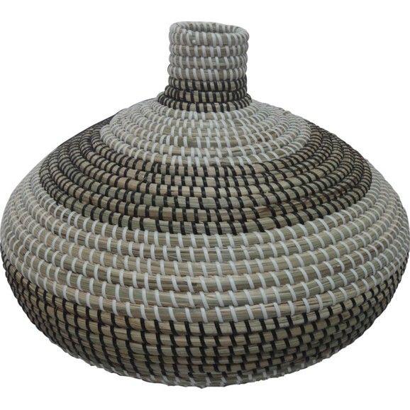Handgemachte Korbvase aus Seegras - bringen Sie Stimmung in jeden Raum