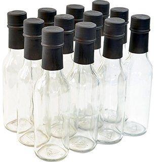 - 12 Pack Hot Sauce Bottles NiceBottles 10 Oz Wide Mouth