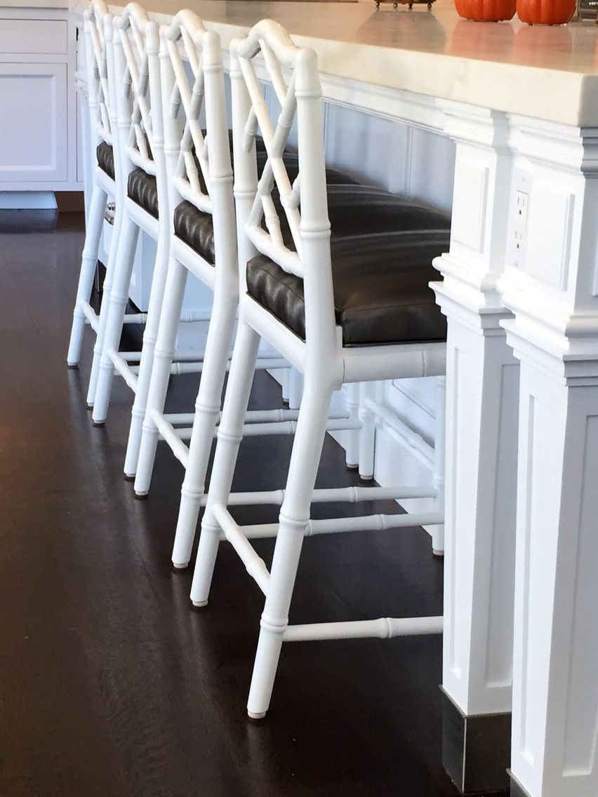 Wondrous Four Chairs All In A Row Jonathan Adler White Chippendale Ocoug Best Dining Table And Chair Ideas Images Ocougorg