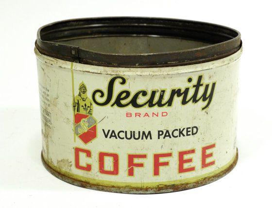 Security Vacuum Packed Coffee