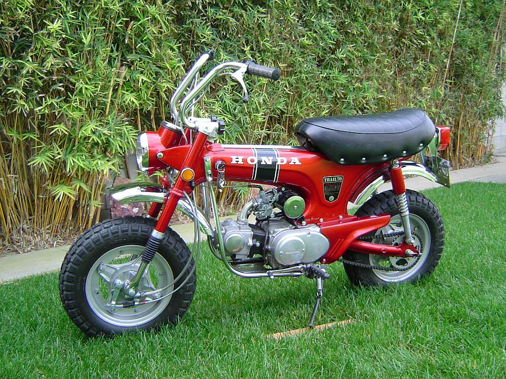 Mine Was A 1981 Model Delivered My Newspapers On It Honda Ct70 Ko 1970 Specs Trail 70