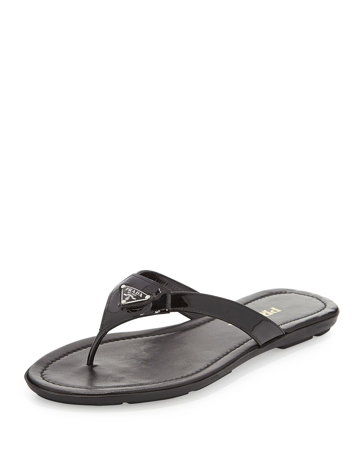 562893d01e24 Patent Leather Thong Sandal