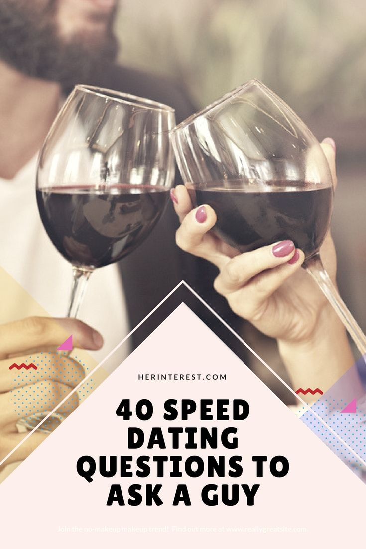 Speed dating questions for guys #15