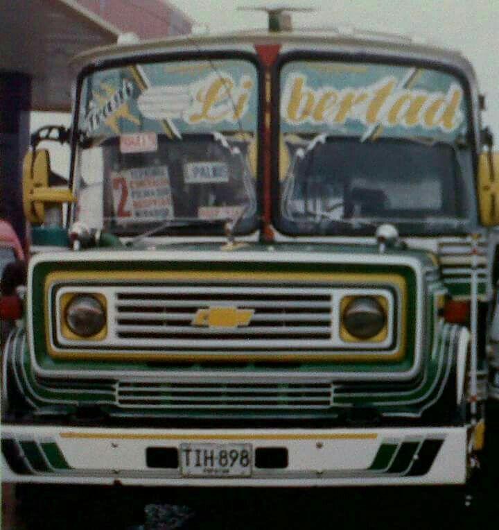 Bus Chevrolet Afiliado A La Empresa Translibertad Ltda Bus Transporte Urbano Camiones
