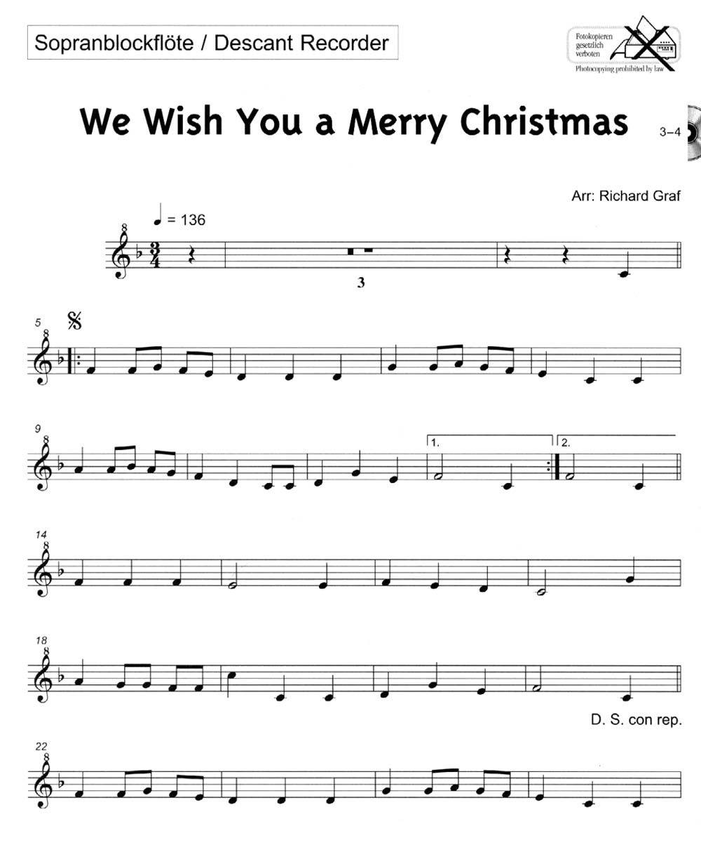 easy christmas recorder sheet music | PLAY-ALONG JUNIOR--CHRISTMAS ...