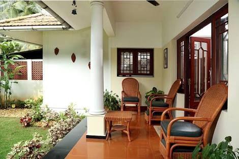 Beautiful Courtyard Kerala Houses