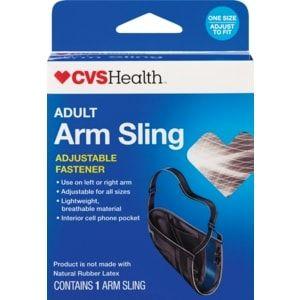 CVS Health Arm Sling Adult with Adjustable Fastener | Arm ...