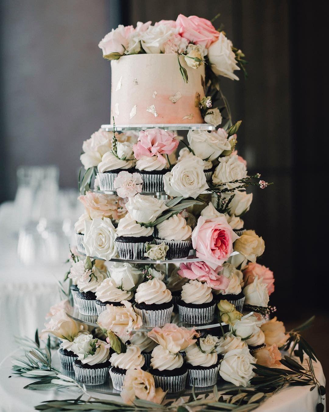 Alternative Wedding Cake Ideas David S Bridal Blog Wedding Cake Alternatives Wedding Cake Table Romantic Wedding Cake