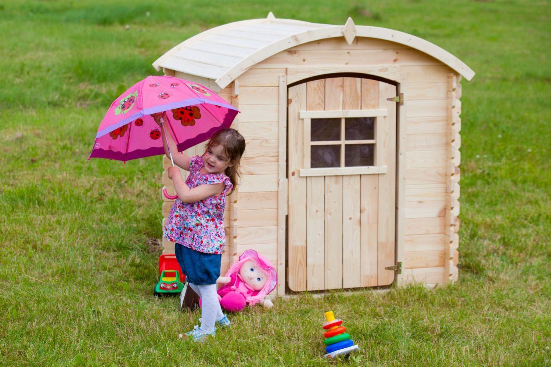 Maisonnette Clochette En Bois Pour Enfant M505 Outdoor Toys Wooden Playhouse Play Houses