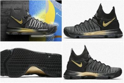 pretty nice 4e6ae cd716 New Nike KD 9 Elite Flip the Switch Black Tour Yellow Blue Fury 878637 007  May