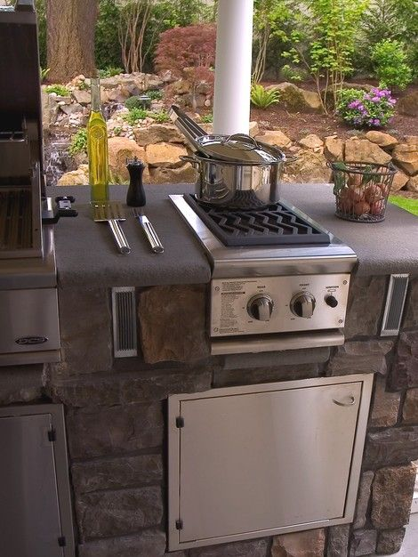 Entire House Home Project From Neil Kelly Porch Outdoor Kitchen Kitchen Stove Outdoor Stove