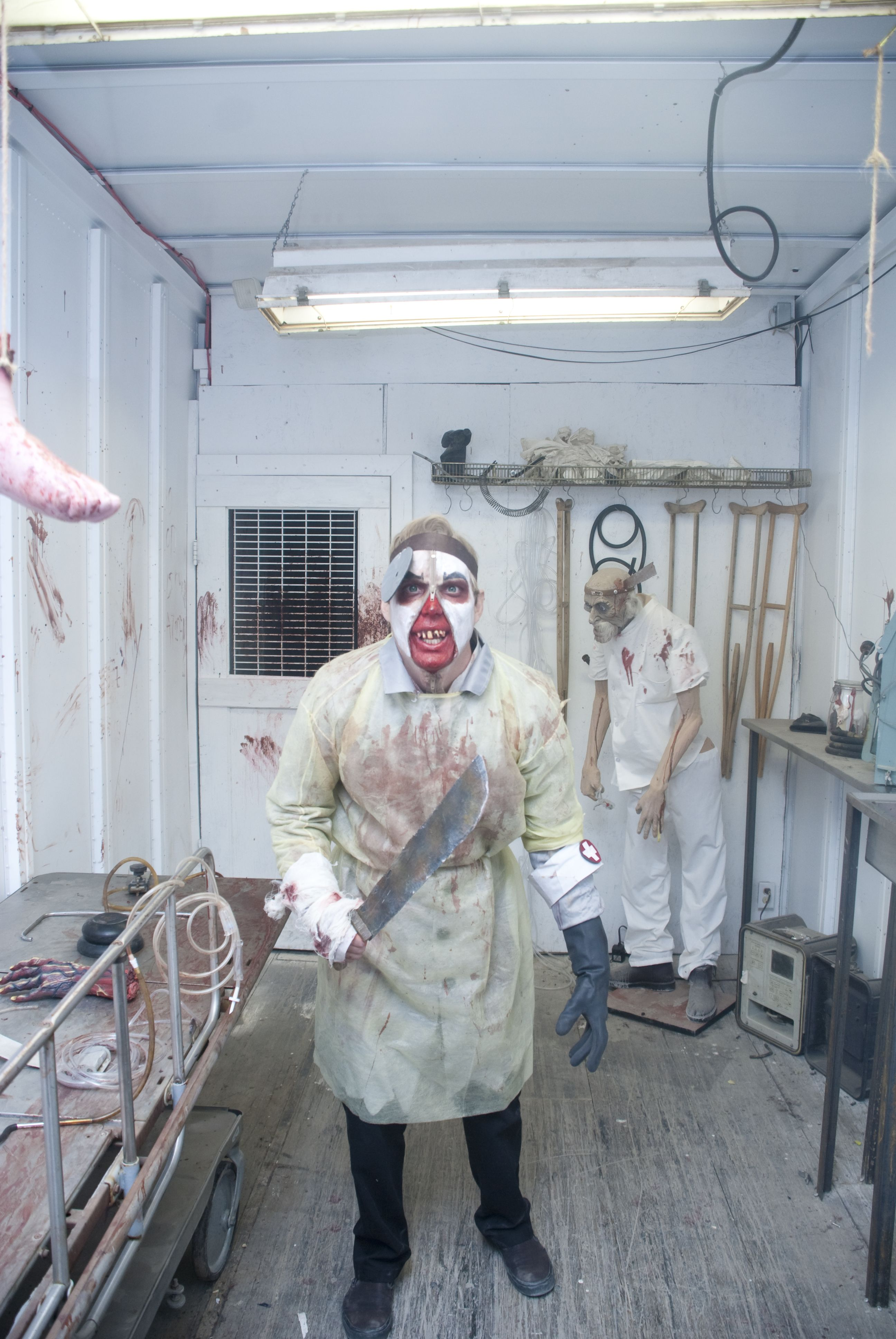 Rotten Eye Candy  Haunted House Photos  Strangling