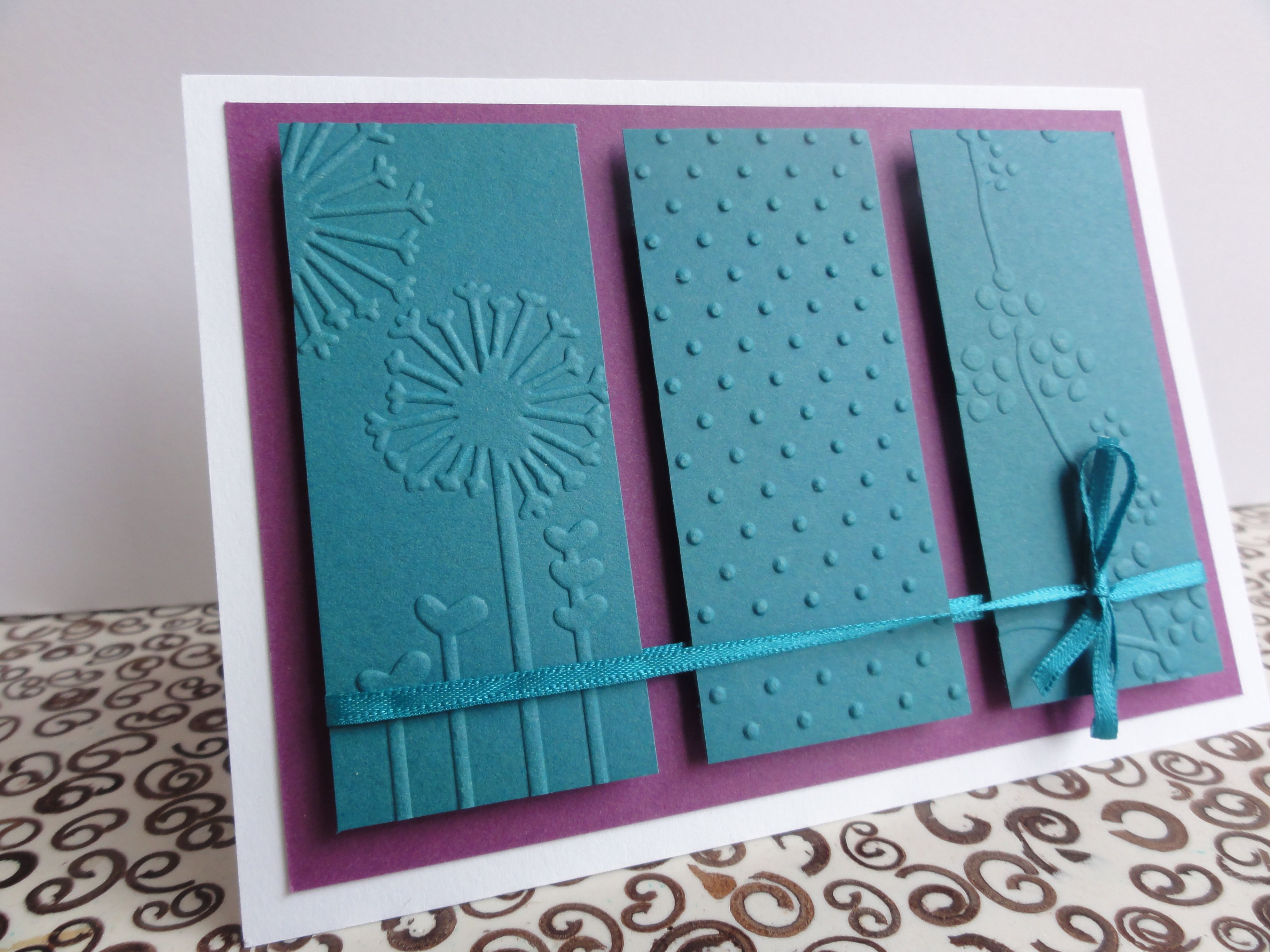 Card Making Ideas Using Cuttlebug Part - 42: Cuttlebug Embossing Folders · Embossed CardsCuttlebug ...