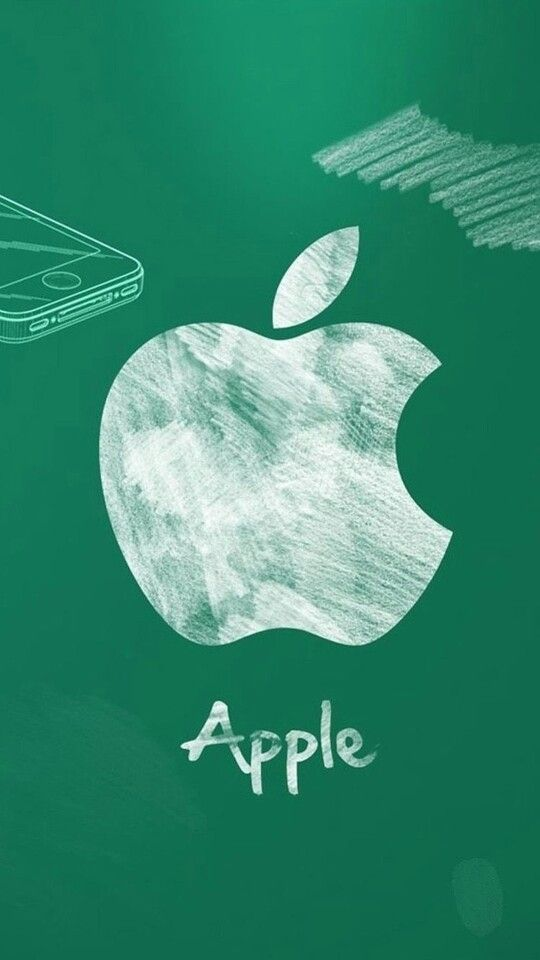 Chalkboard Apple .