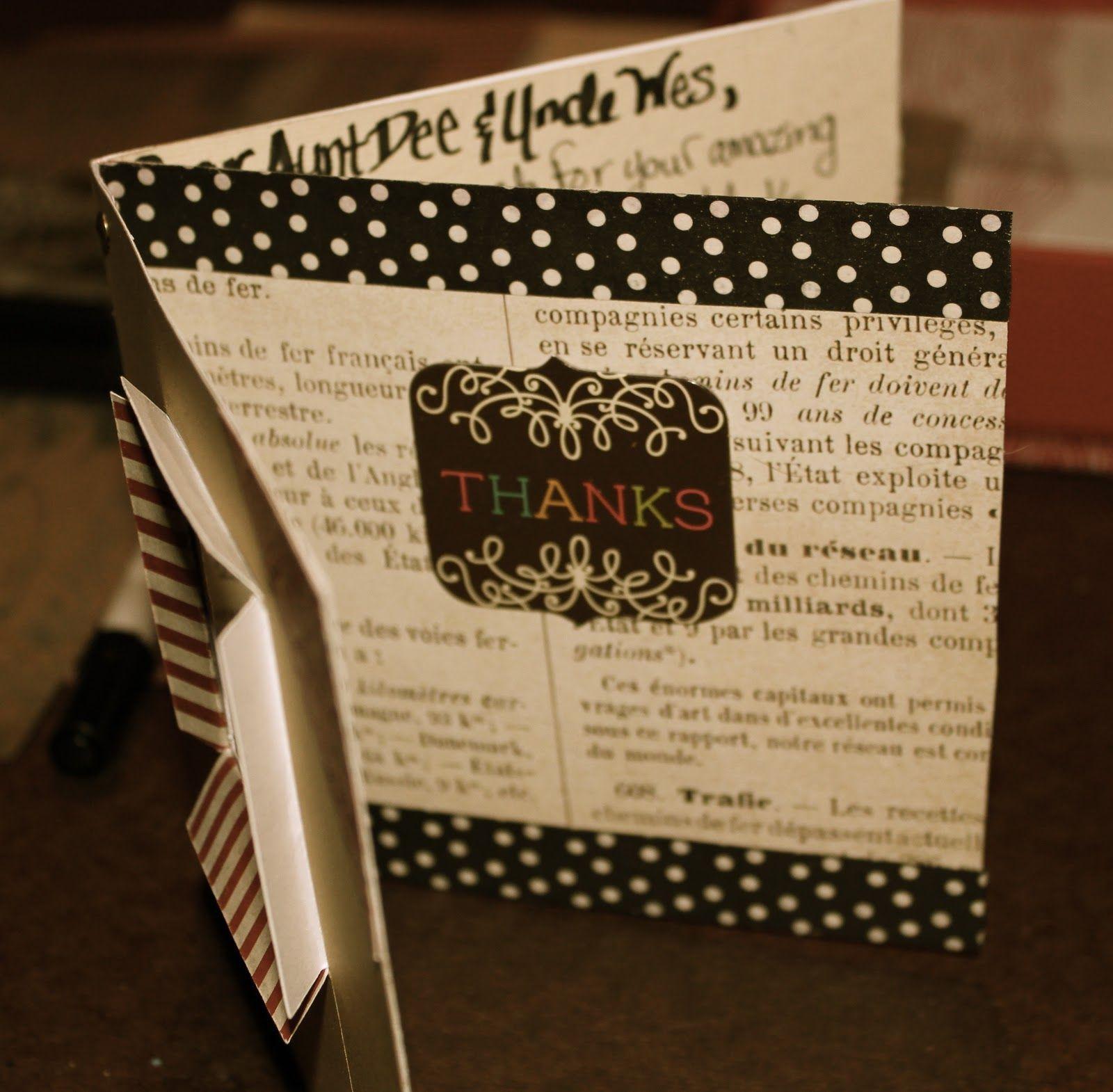 Handmade thank you card handmade thank you cards cards