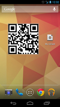 Using Android Beam to share your mobile business card | NFC