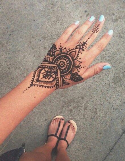Tattoo Via Tumblr P E R M A N E N C E Pinterest Henna
