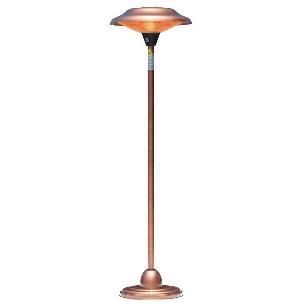 Fire Sense 1,500 Watt Copper Halogen Electric Patio Heater